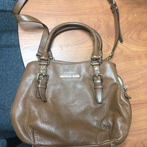 MK Tan Leather Multi Bag